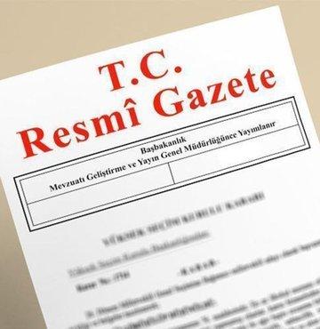 Yargıtay üyeliklerine seçilme kararı Resmi Gazete'de yayımlandı