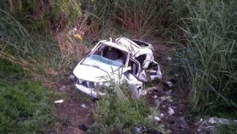 Ankara'da otomobil dereye düştü: 2'si ağır 4 yaralı