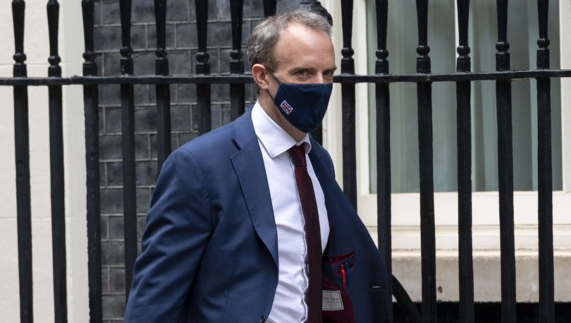 İngiltere Dışişleri Bakanı Dominic Raab'dan açıklama
