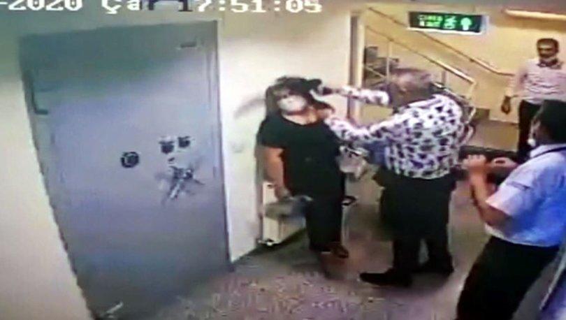 ŞAKA GİBİ! Son dakika: Çalışanın kafasına silah dayadı! Yok böyle savunma!