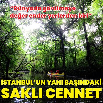 İstanbul'un yanı başındaki saklı cennet