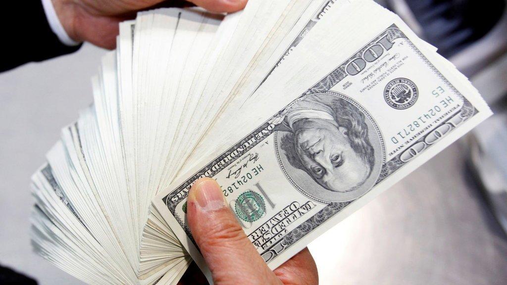 Dolar sert düştü