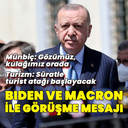Cumhurbaşkanı Erdoğan'dan NATO Zirvesi mesajı