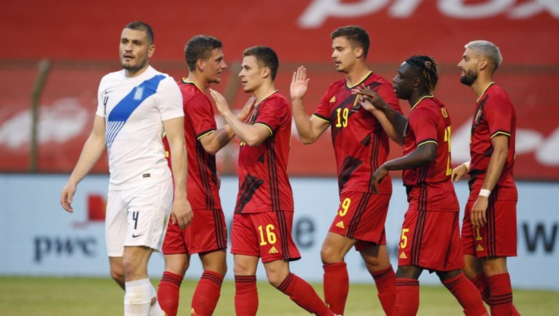 Belçikalı futbolculara EURO 2020 primi