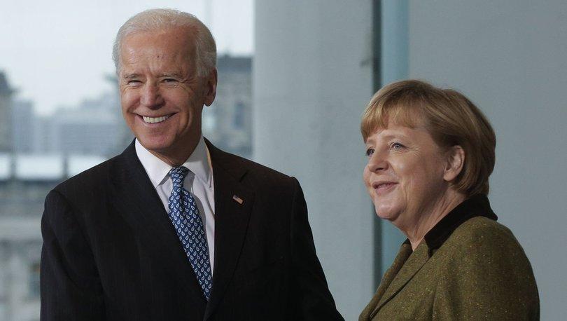 Merkel-Joe Biden görüşmesi için tarih belirlendi: 15 Temmuz