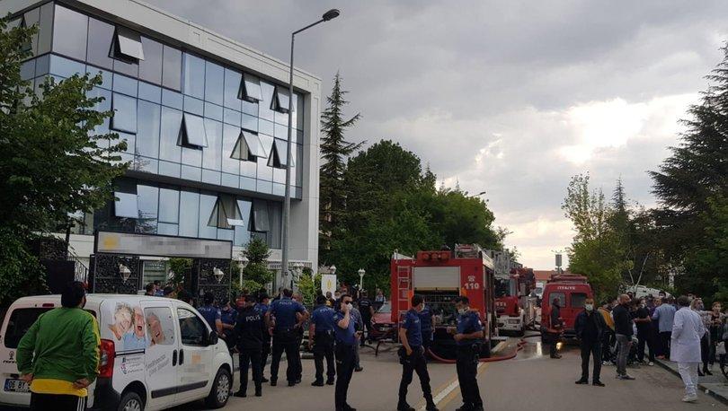 Son dakika haberi Ankara'da huzurevinde yangın!