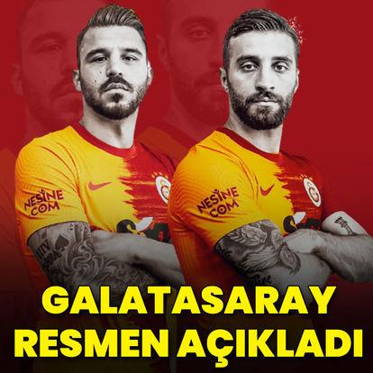 Galatasaray 2 transferi açıkladı