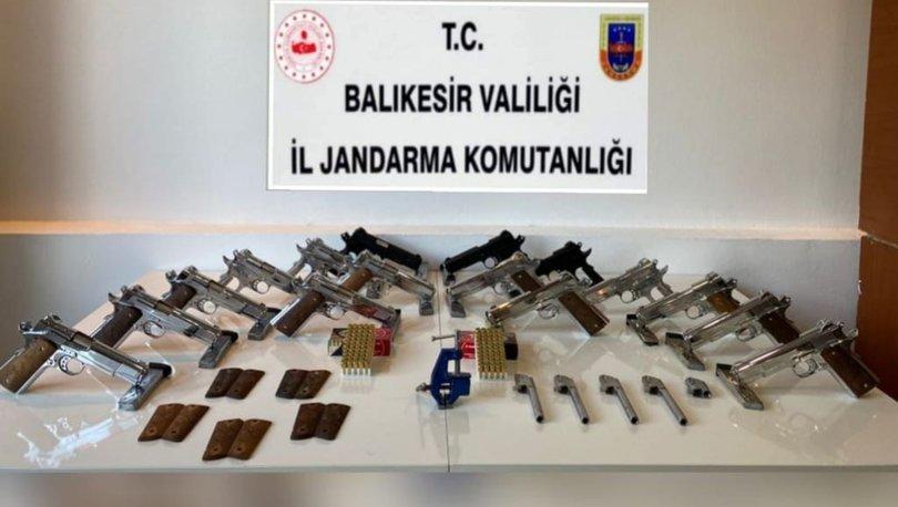 EV DEĞİL CEPHANELİK! Son dakika: Balıkesir'de KOM ve JASAT'tan silah operasyonu! - Haberler