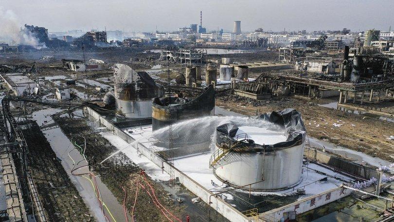 Çin'de bir fabrikada kimyasal sızıntı: 8 kişi hayatını kaybetti