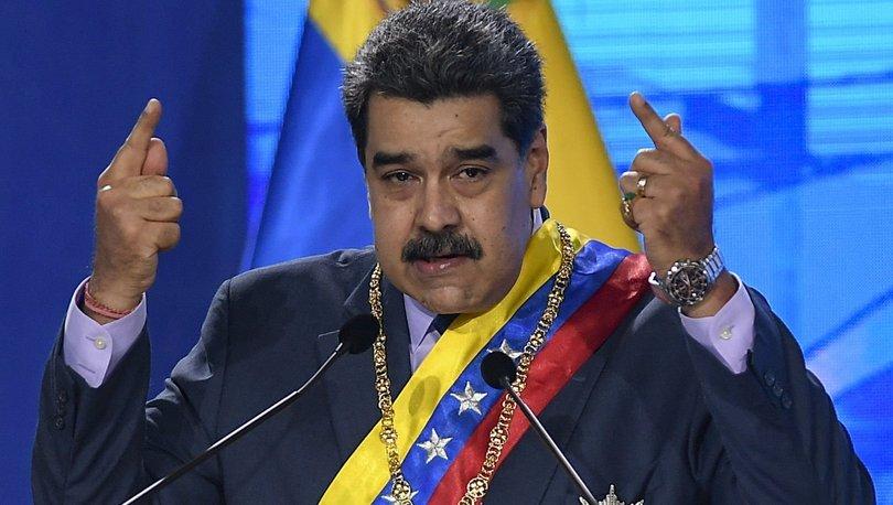 Venezuela'nın COVAX aşılarına ABD yaptırımına Nicolas Maduro'dan tepki