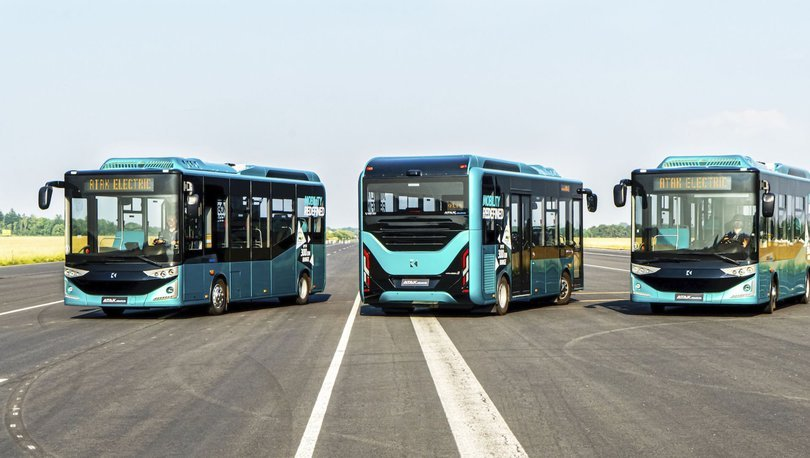 Yerli elektrikli otobüs Almanya yollarına çıkacak