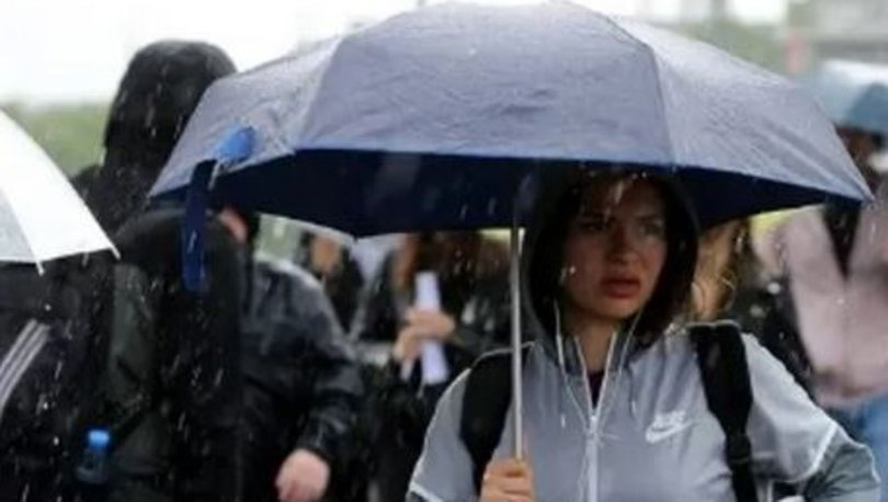 GELİYOR! Son dakika HAVA DURUMU: 6 bölge için sağanak yağmur uyarısı