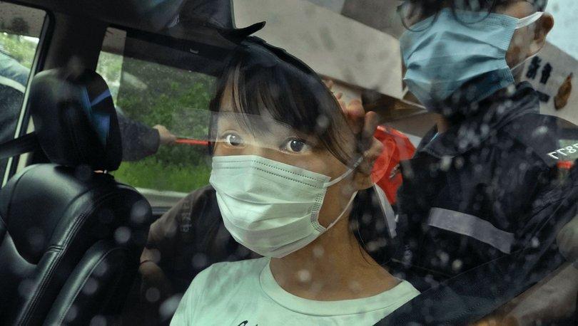 Demokrasi yanlısı Hong Konglu aktivist Agnes Chow serbest bırakıldı