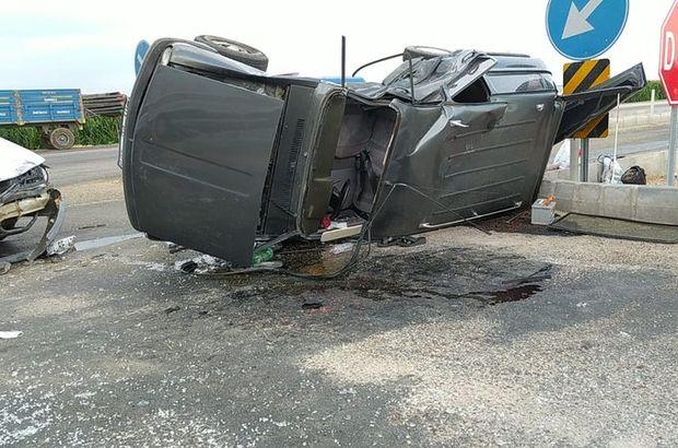 Adana'da kaza! 1'i çocuk 6 yaralı