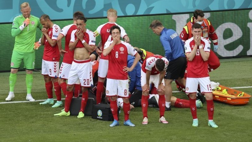 Christian Eriksen'in sağlık durumu! UEFA ve Danimarka Federasyonu açıkladı!