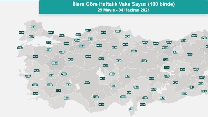 İl il risk haritası 12 Haziran! Türkiye risk haritasına göre düşük, orta, yüksek ve çok yüksek riskli iller li