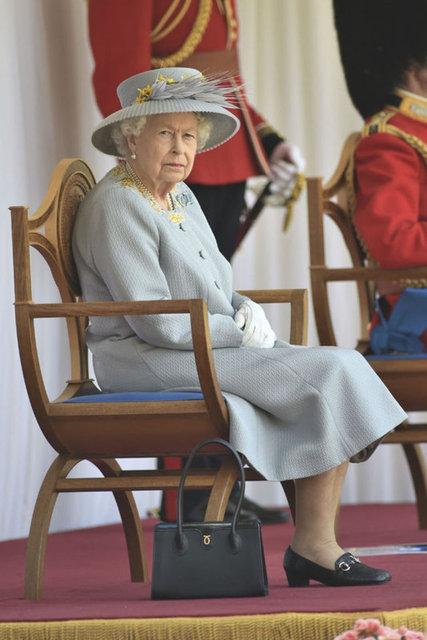 SON DAKİKA: Kraliçe Elizabeth'in 95'inci doğum günü kutlaması!