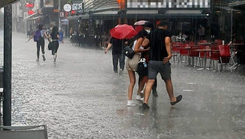 GELİYOR! Son dakika: Meteoroloji'den son dakika 5 bölge için yağmur uyarısı - 13 Haziran Hava Durumu