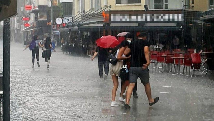 5 bölge için yağmur uyarısı