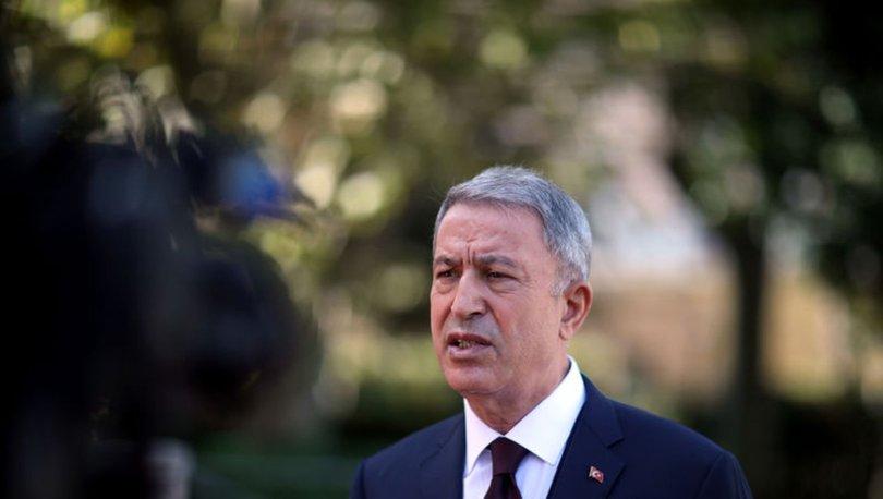 SON DAKİKA: Milli Savunma Bakanı Akar'dan darbeci Hafter' tepki: Yüzlerce insanı toplu mezarlara gömdüler!