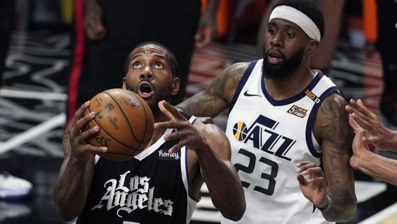 NBA'de Clippers, Jazz'ı yenerek konferans yarı final serisinde farkı bire indirdi