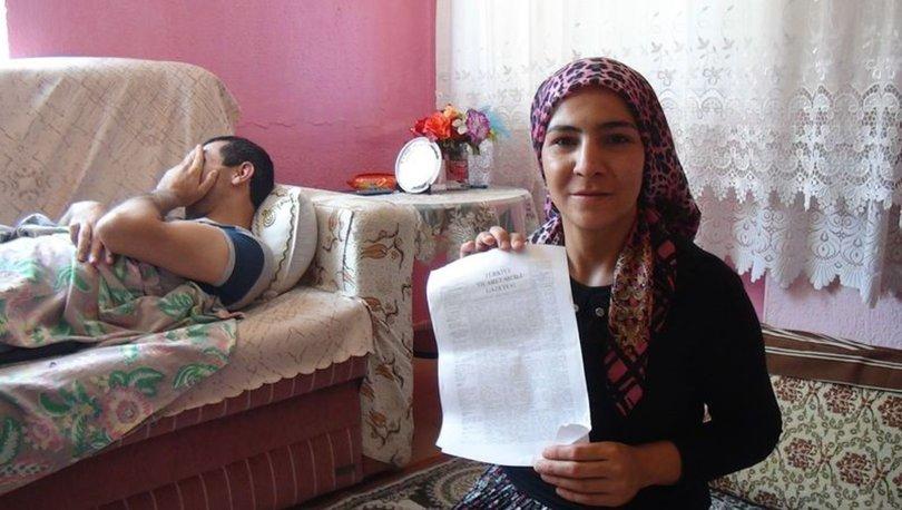 SON DAKİKA! Eşine engelli maaşı için gitti, şoke oldu - Haberler