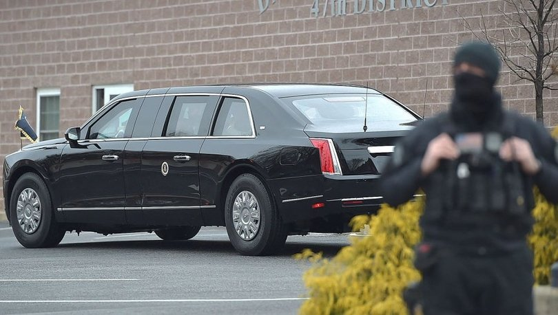 SON DAKİKA: Cadillac One: Biden'a Brüksel seyahatinde eşlik edecek10 tonluk 'canavar'