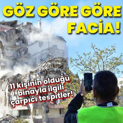 11 kişinin öldüğü binayla ilgili çarpıcı tespitler!
