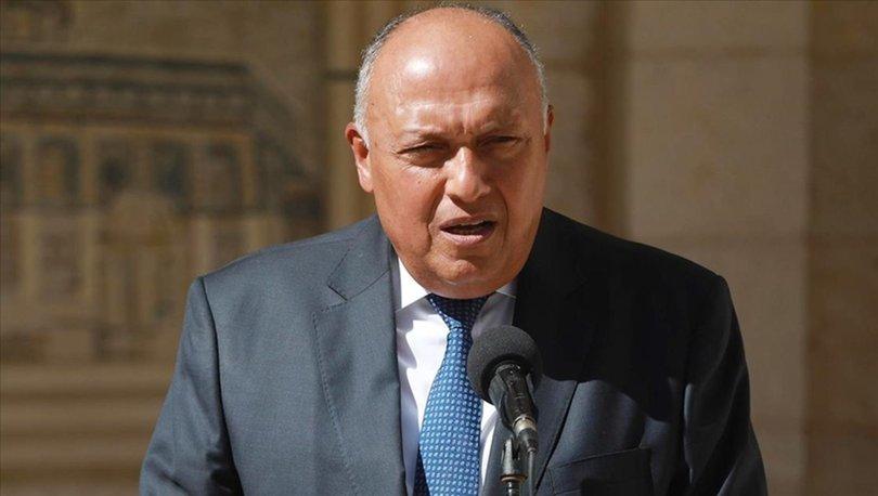 SON DAKİKA: Mısır Dışişleri Bakanı, ülkesinin Katar ile