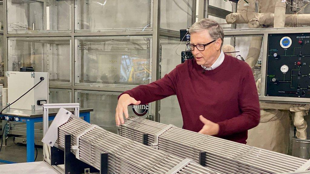 Bill Gates'ten nükleer hamle