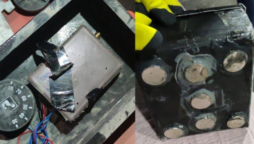 Habur'da TIR'ın dorsesinde patlayıcı düzenek bulundu