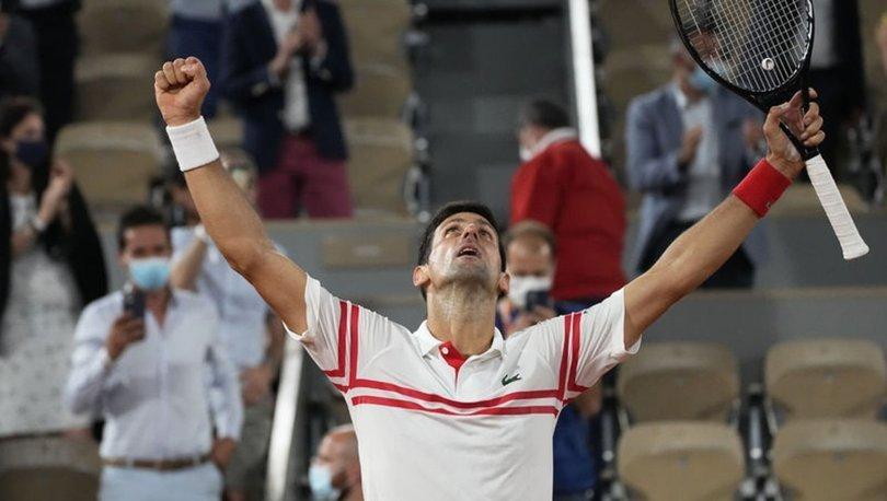 Fransa Açık'ta tek erkekler şampiyonu Novak Djokovic!