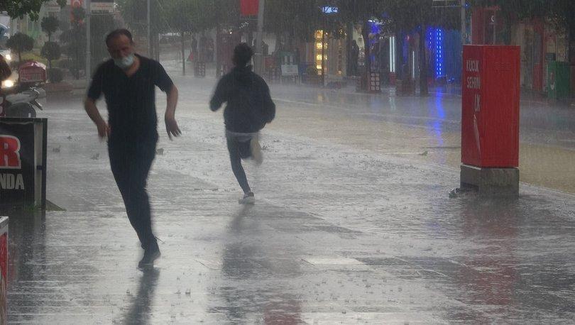 Meteoroloji'den iki kent için kuvvetli yağış uyarısı