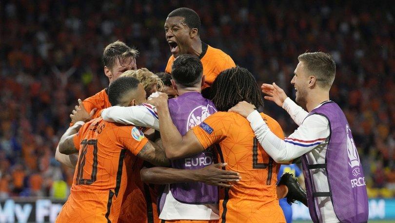 Hollanda: 3 - Ukrayna: 2   MAÇ SONUCU