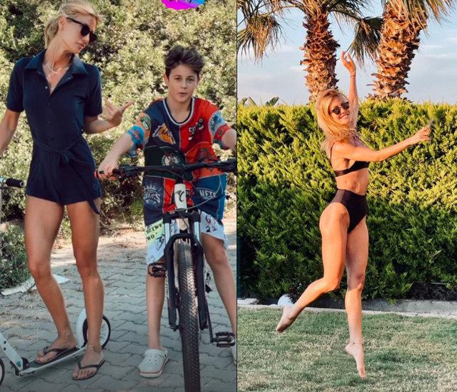 Çağla Şıkel: Tatil başlamıştır - Magazin haberleri