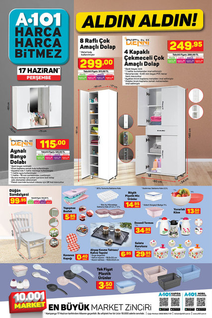 A101 BİM aktüel ürünler kataloğu! A101 BİM 15-17 Haziran aktüel kataloğu! Tüm liste yayında