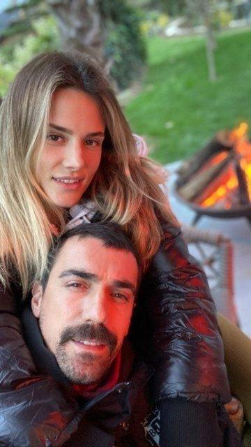 İbrahim Çelikkol-Mihre Çelikkol çifti Kapadokya'da - Magazin haberleri