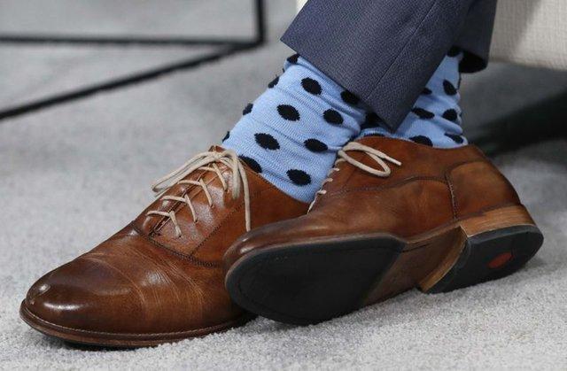 SON DAKİKA: Kanada Başbakanı Trudeau, NATO Zirvesi'ne çoraplarıyla damga vurdu!
