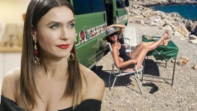 Şevval Sam'ın karavan tatili - Magazin haberleri