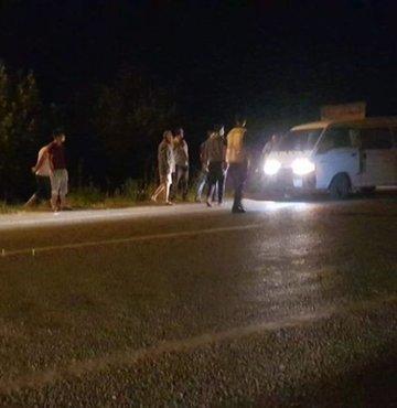 İzmir'in Tire ilçesinde meydana gelen trafik kazasında aracın çarptığı yaya, kaldırıldığı hastanede hayatını kaybetti