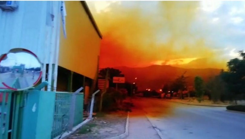 KORKUNÇ! Son dakika! Antalya'da asit tankı patladı gökyüzünü kapladı