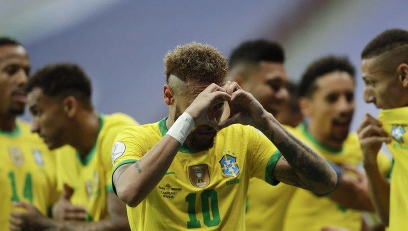 Brezilya, Copa America'ya galibiyetle başladı