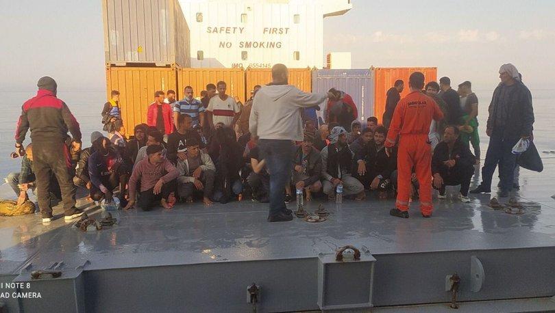 HAREKETLİ ANLAR! Son dakika: Türk kaptan 97 kaçak göçmeni kurtardı - Haberler