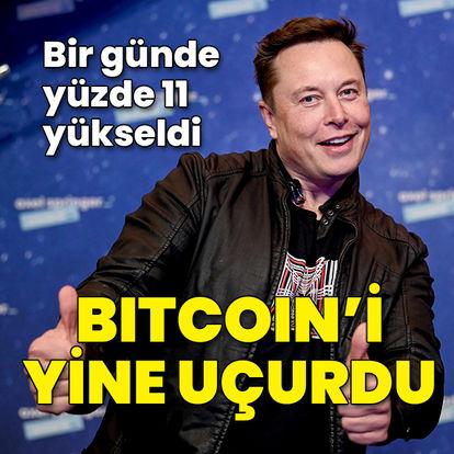Bitcoin'i yine uçurdu