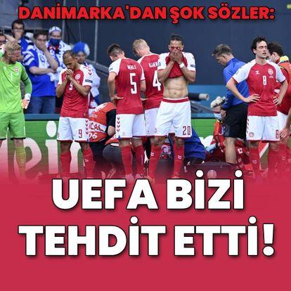 """UEFA bizi tehdit etti!"""