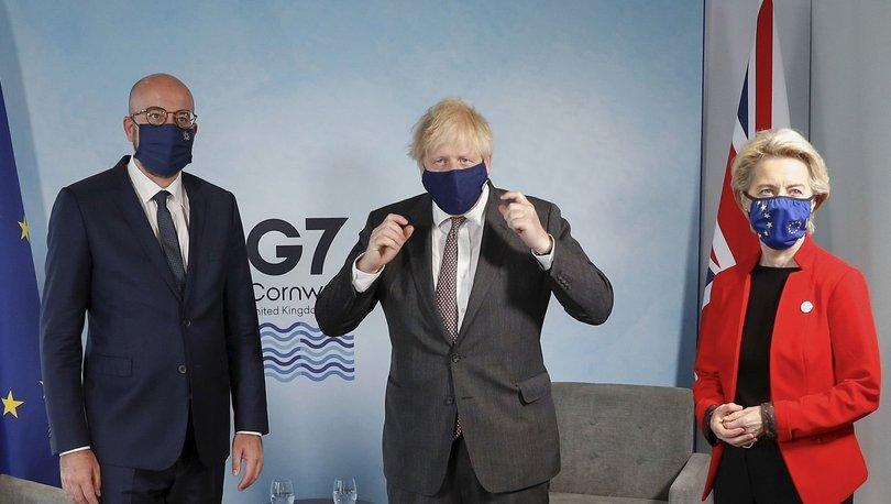 Boris Johnson: ''Protokol şimdilik sorunsuz gidiyor. Sandalyelerimiz var.''