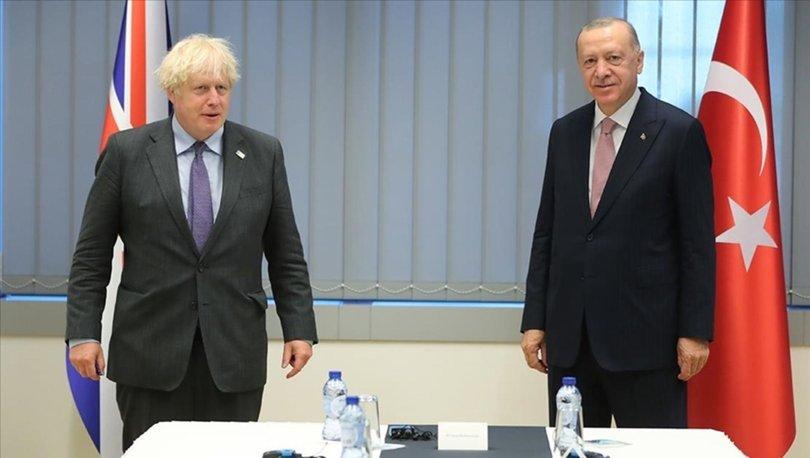 Cumhurbaşkanı Erdoğan ve Johnson, iki ülke arasındaki seyahatin yeniden başlamasının önemi üzerinde mutabık ka