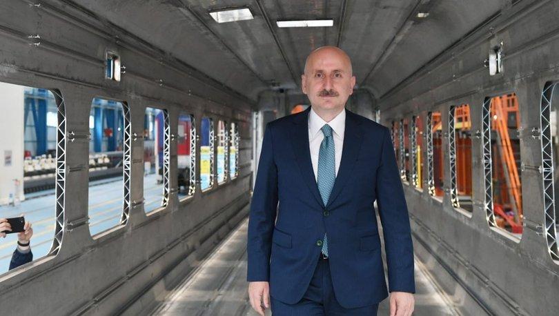 Bakan Karaismailoğlu: Trenimizi bu yıl içerisinde milletimizin hizmetine sunacağız