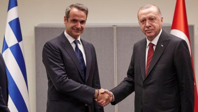 Cumhurbaşkanı Erdoğan'ın, Yunanistan Başbakanı Miçotakis ile görüşmesi sona erdi