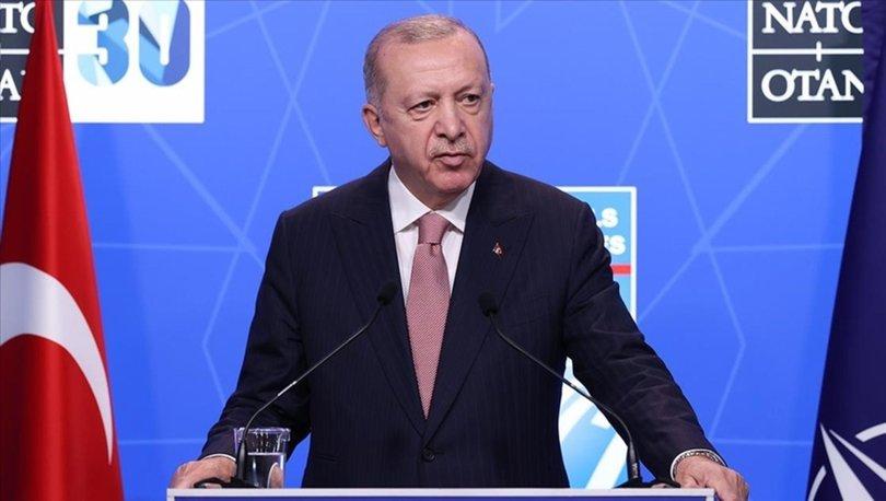 SON DAKİKA! Cumhurbaşkanı Erdoğan'dan NATO zirvesinin ardından flaş açıklamalar